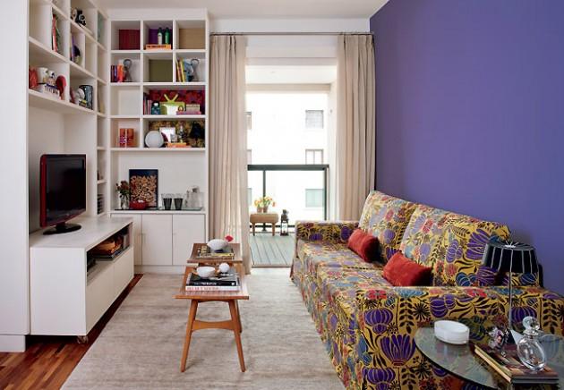 fotos de decoracao de interiores residenciais:Daqui: http://moveisprimavera.com.br/blog/2012/06/combinando-roxo-e
