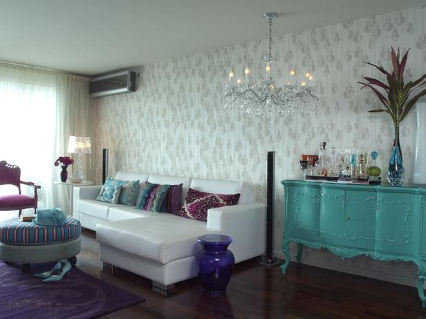decoracao de interiores estilo romântico:Projeto De Sofa