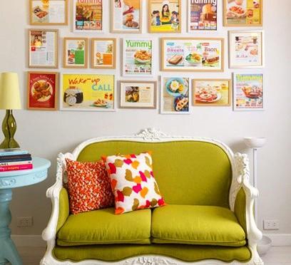 quadros_decoração_móveis_primavera_casa