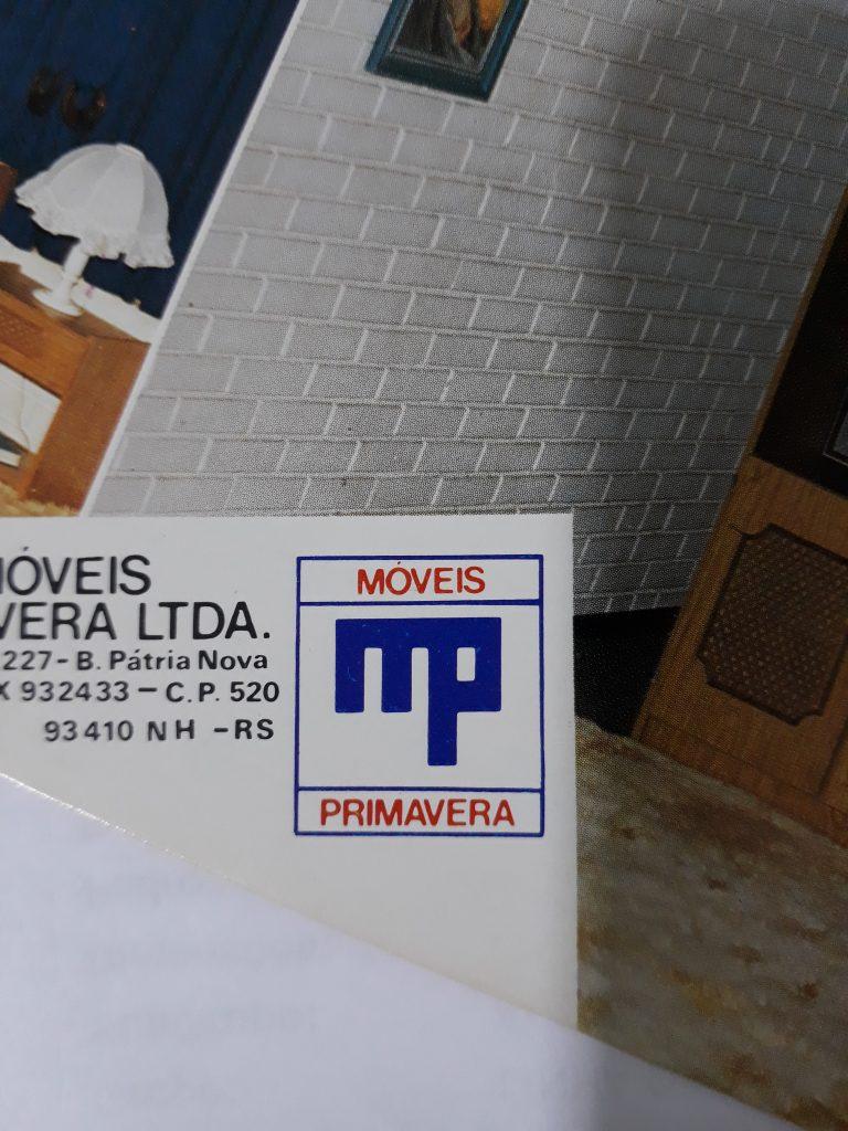1971 - First brand of Móveis Primavera...