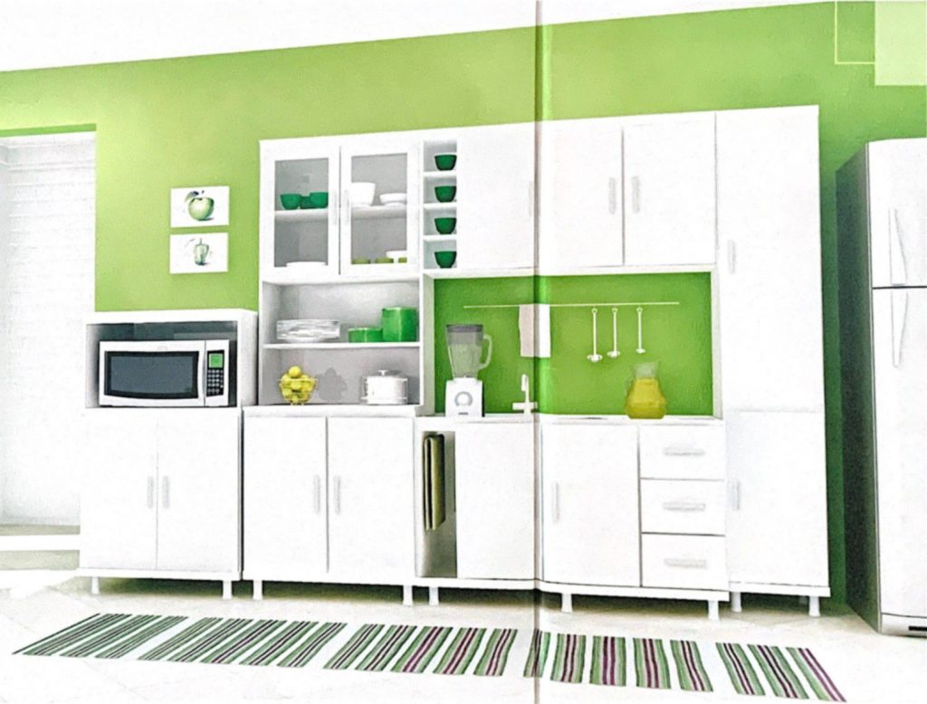 2007 - First modular kitchen by Móveis Primavera...